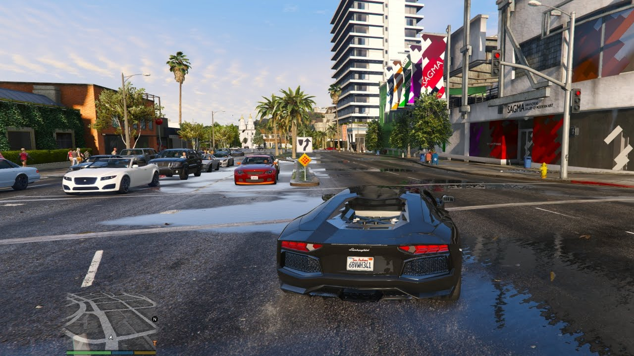 how to join an online game gta 5