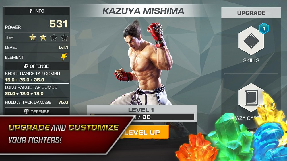 Tekken Mobile Android Ios