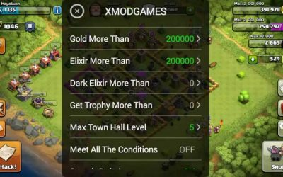 XmodGame Clash of Clans Android et Ios